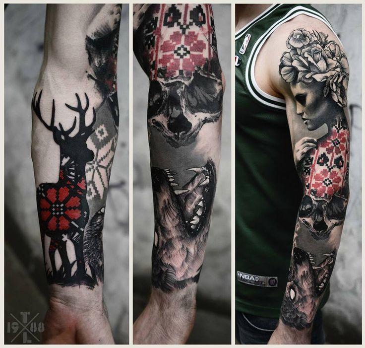 Freakin Amazing sleeve by Timur Lysenko