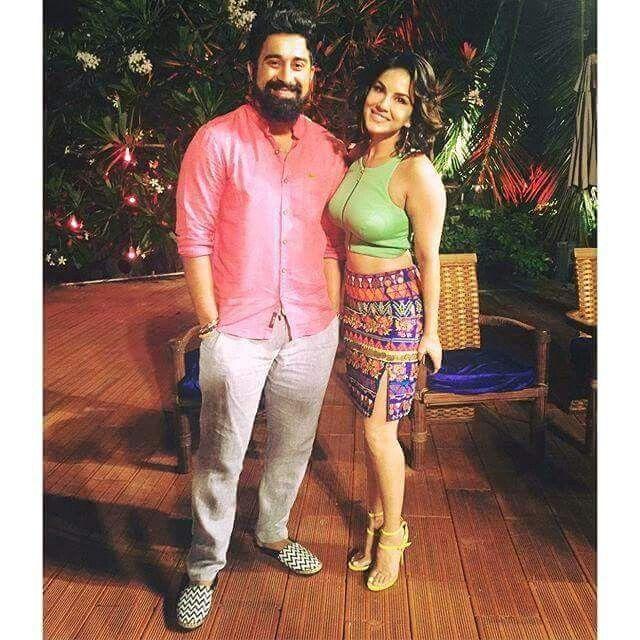 With Rannvijay Singh Singha!!!  #Splitsvilla #SunnyLeone #LustbySunnyLeone #TeenPattiwithSunnyLeone