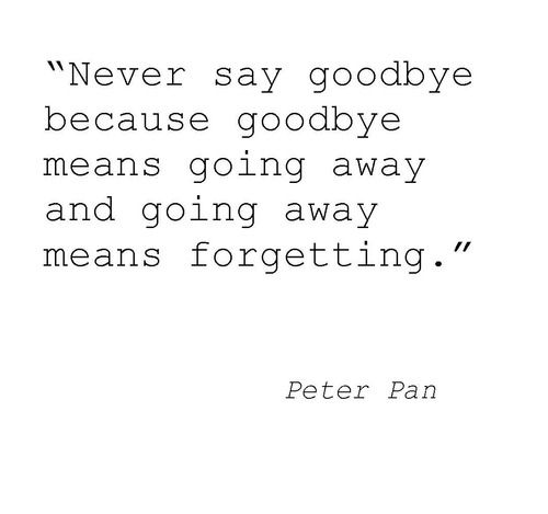 peter pan quote! favorite movie/book character of all time