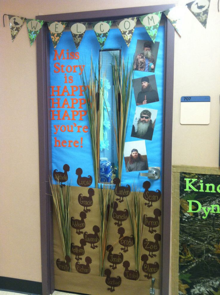 My Duck Dynasty door!! #classroomdoor By //. & 23 best Camo Classroom Theme images on Pinterest | Duck dynasty ... pezcame.com