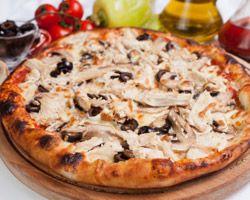 Pizza Piccante ; recette de pizza au pepperoni