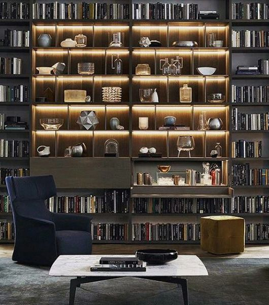 100 Bachelor Pad Living Room Ideas For Men: Incredible Bachelor Pad Living Room Bookcase Ideas