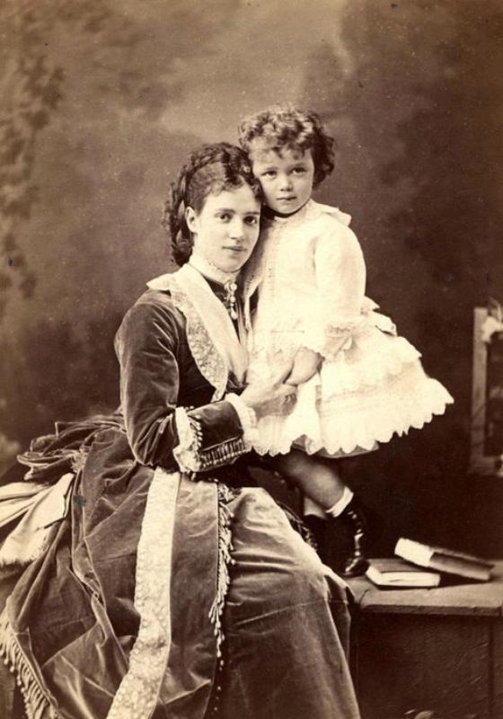 Одежда для мальчиков в 19 веке. Платьица - Colors.life