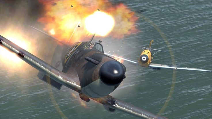 Il2 Cliffs of Dover Online - (Etwas zu Nah-)Kampf am Konvoi feat. Ether ...