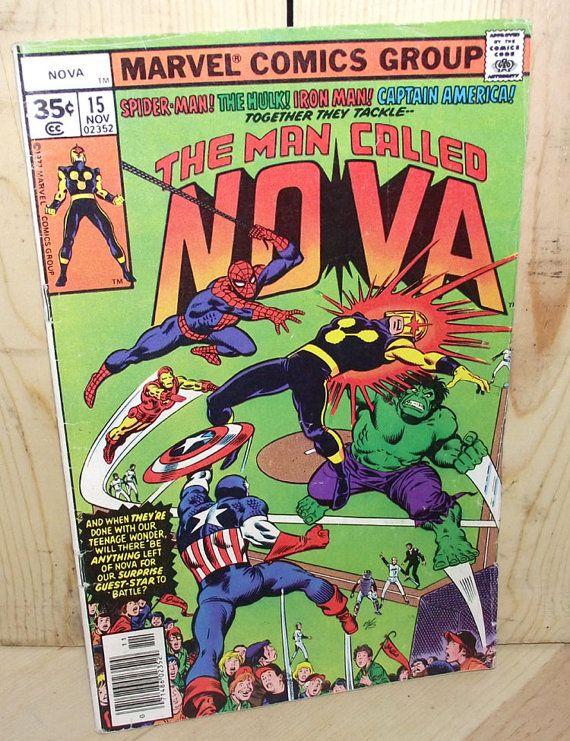 The Man Called Nova Comic Book Vol 1 No 15 1977 by DaytonaVintage, $5.95