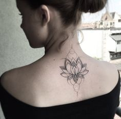 Geometric Lotus Flower by Balazs Bercsenyi