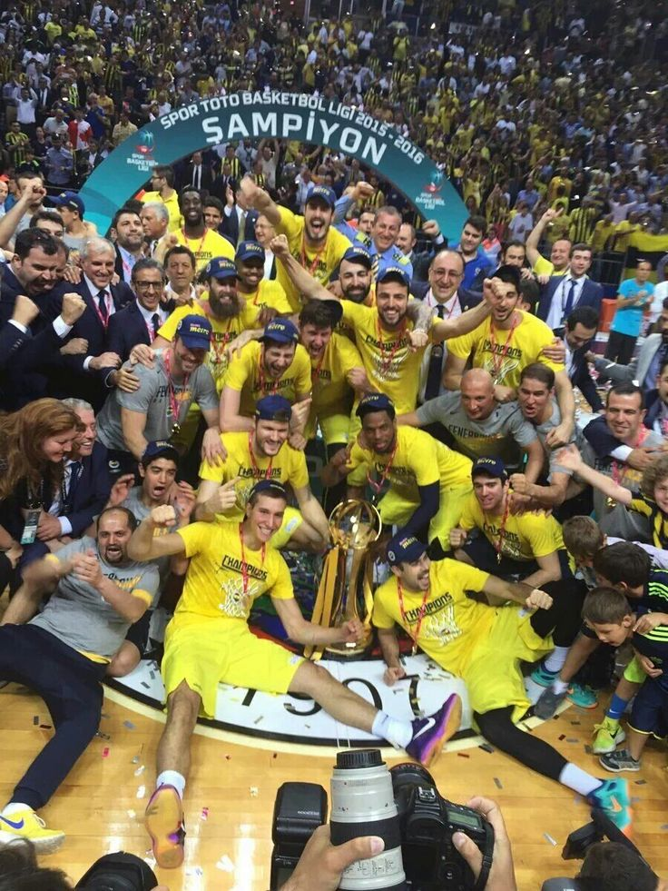 Fenerbahce #Basketball #Champion