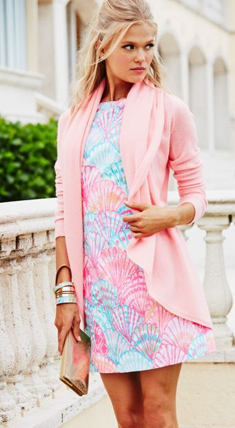 Lilly Pulitzer Simone Shift Dress.