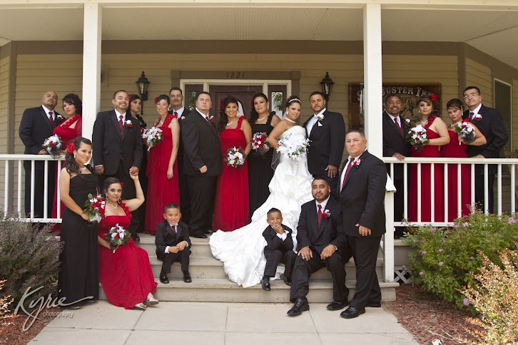 Summer Wedding at the Currier Inn - photograph by Kyrie Photography