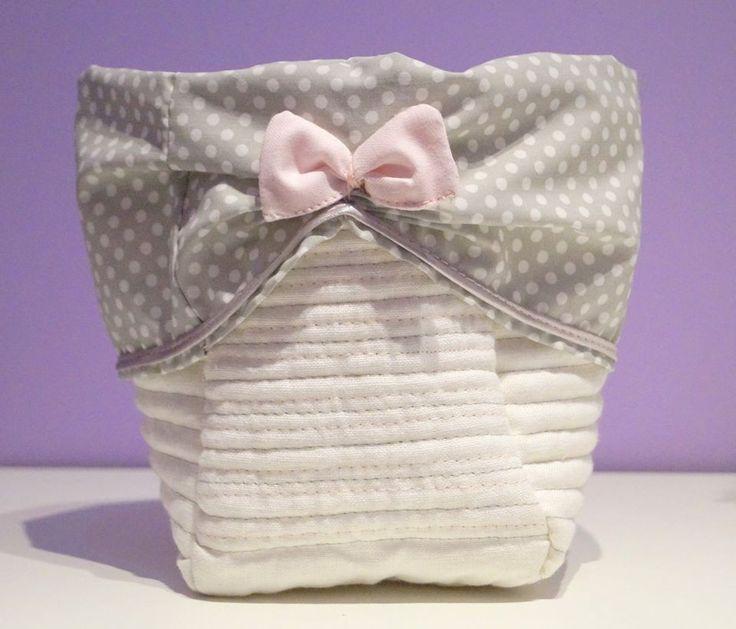 koszyczek tekstylny :)