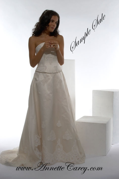 To make for you from £2,800.  Sample sale dress, ONE ONLY available, size 10 - 12 for £450. Worn in the design salon.