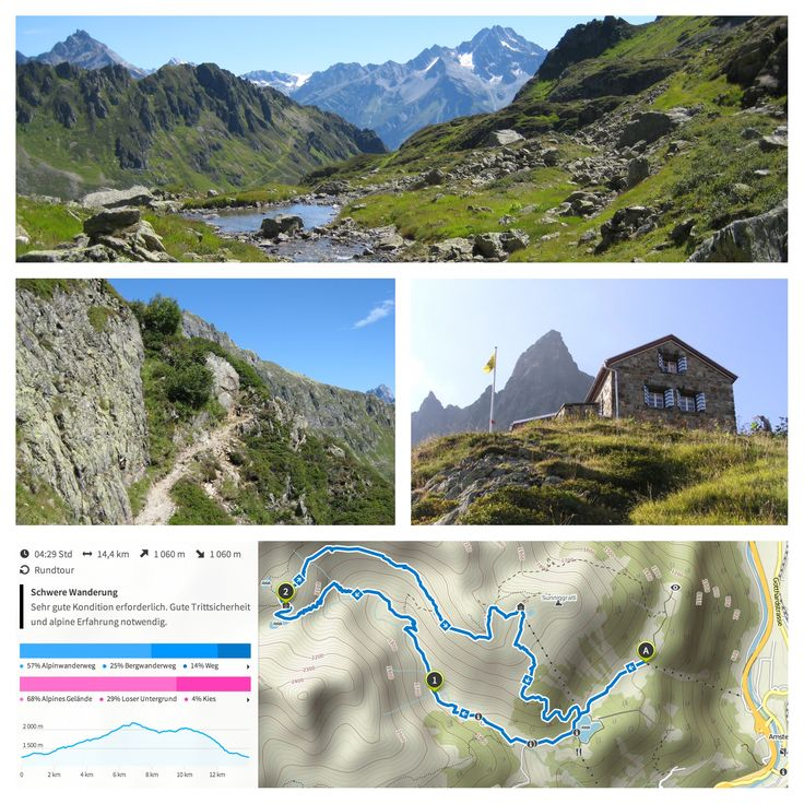 Arnisee - Leutschachtal - Alp Furt- Leutschachhütte (4 h 30 min)