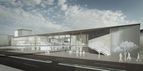 4. Mansiyon - Efeler Belediyesi Hizmet Binası Mimari Proje Yarışması - kolokyum.com