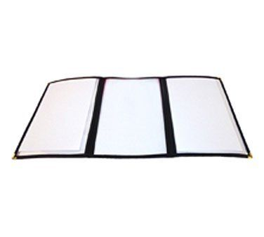Winco Triple Fold Menu Cover, 12 x 9 1/2 inch by Winco. $7.01. 12. Winco Triple Fold Menu Cover, 12 x 9 1/2 inch -- 1 each.