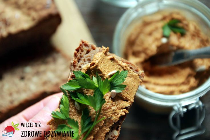 Więcej Niż Zdrowe Odżywianie Pasztet wege bez pieczenia - Więcej Niż Zdrowe Odżywianie