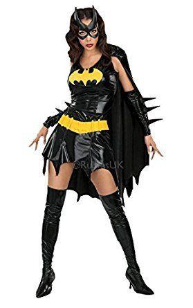 Medium Ladies Deluxe Batgirl Costume