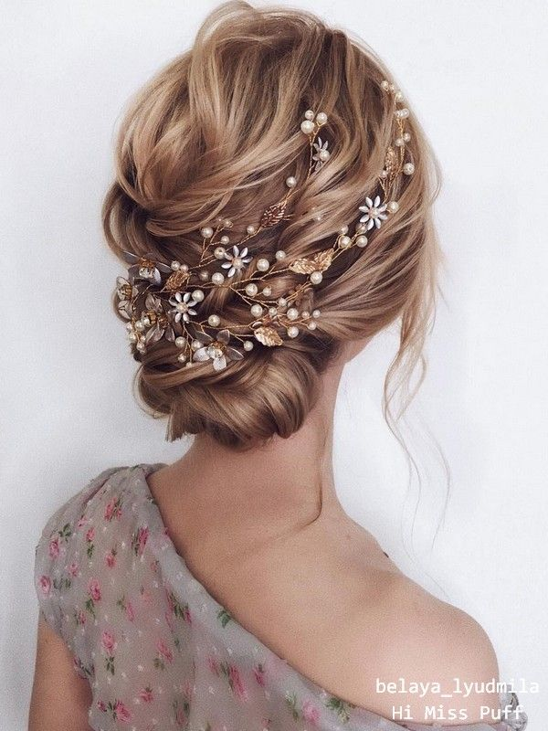 20 Long Wedding Hairstyles and Updos from belaya_lyudmila