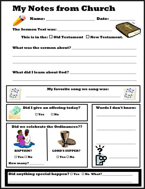 Worksheet Sermon Preparation Worksheet 1000 images about sermon note templates on pinterest small chshchristianhomeschoolhub sermonnotesforkids church notes worksheet