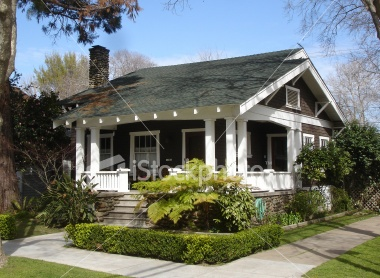 Small California Craftsman Bungalow this is exactly what