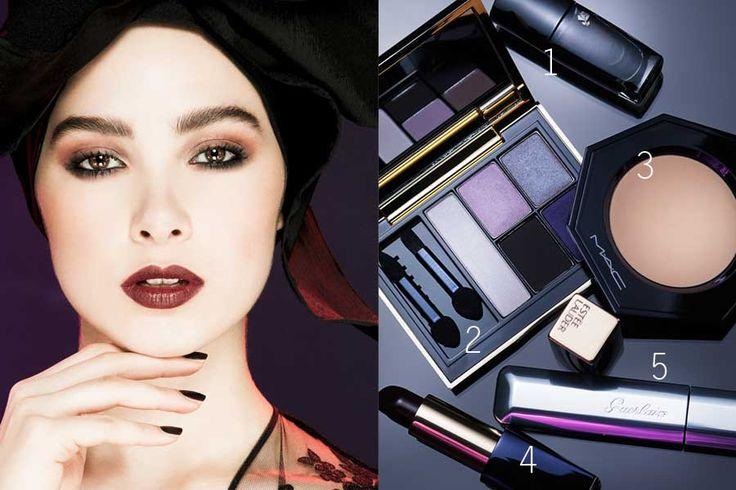 Festliches Make-up: Der verführerische «Maleficent»-Look  Redaktion: Olivia Goricanec & Niklaus Müller; Styling: Filipa Fernandes; Fotos: Karin Heer; Stills: Daniel Valance