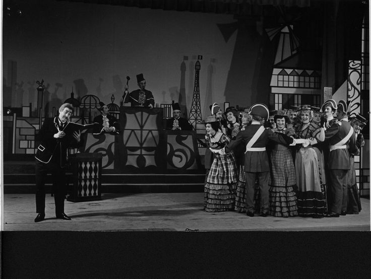 Can-can / fot. archiwum Teatru Muzycznego w Łodzi