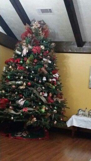 My 9 foot christmas tree