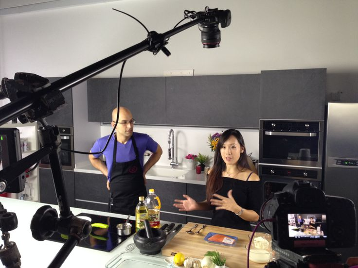 We have food blogger Victoria Cheng from gastronommy.com in our studio shooting for the exciting new Video Blogs section on Food for life tv coming up this March.