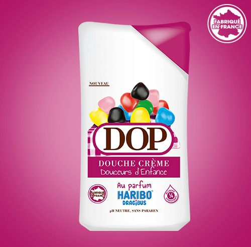 Douche Crème au parfum des DRAGIBUS Haribo dop