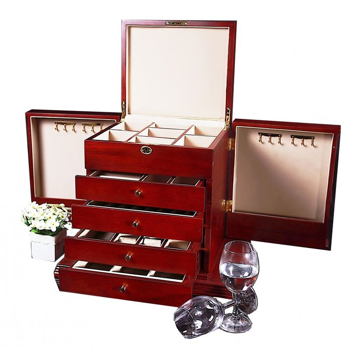 An incredible jewellery collection deserves an incredible jewellery box