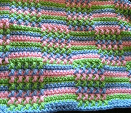 My favorite crochet afghan pattern