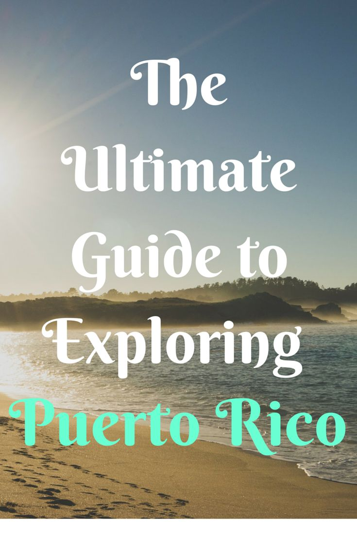 Planning a trip to Puerto Rico soon? This covers foods to try, places to explore, and phrases that will help you interact with the locals!