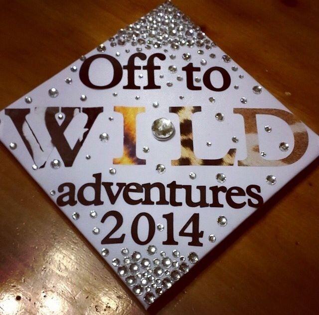 Animal print Graduation cap