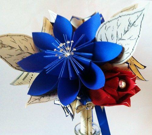 origami flowers wedding - Google Search
