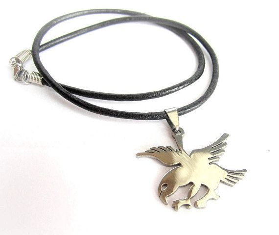 Mens eagle necklace stainless steel eagle pendant mens