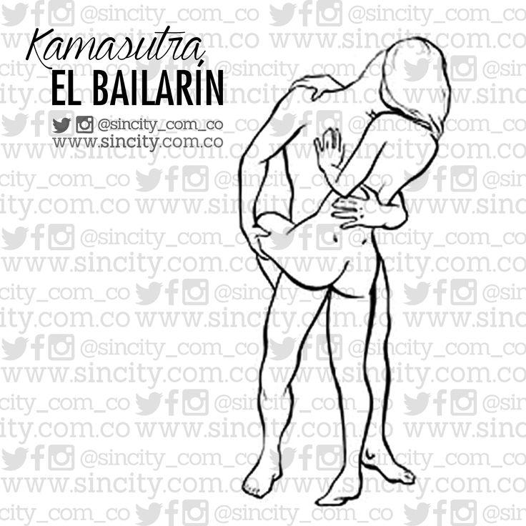 #PosiciónDelDía #Kamasutra #ElBailarín #Posición muy #caliente para poner en práctica en #lugares con poco espacio. Al permitir una #penetración más cómoda, es una gran opción para el sexo al aire libre. Hazlo así: Pónganse de pie uno enfrente del otro. Dile que levante una de sus piernas y que la envuelva alrededor de tu trasero. Prueba esto también Si ella es muy flexible -insistimos: sólo si es muy #flexible-, que levante su pierna por encima de tu hombro.