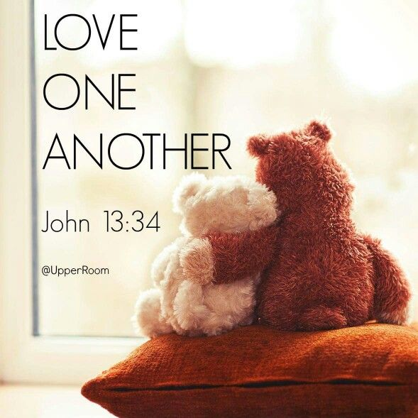 Love One Another, Bible Verse John 13:34