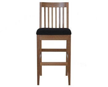 AGATI Furniture - White High Stool