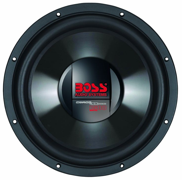 BOSS Audio CX124DVC Chaos Exxtreme 12-inch 1500-watt DUAL Voice Coil Subwoofer