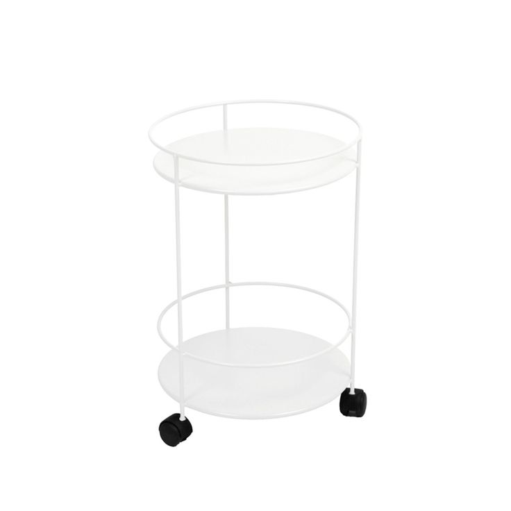 Small Table barbord med hjul - cotton white