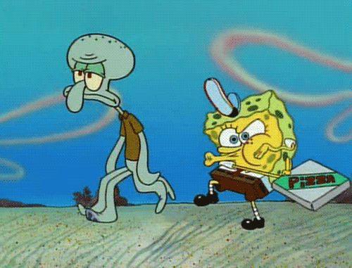 Best scene of all of Spongebob! The Krusty Krab Pizza!
