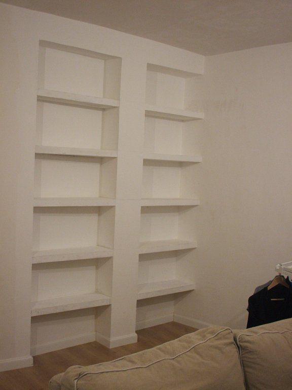 Nuestra estanter a de pladur paso a paso - Como hacer una pared de pladur ...