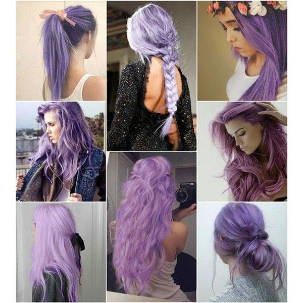 Dark Black Brown to Pastel Ombre Hair Color Trends 2015 ❤ liked on Polyvore