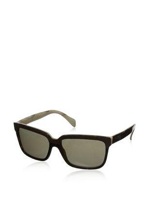Alexander McQueen Women's 4191/S Sunglasses, Havana