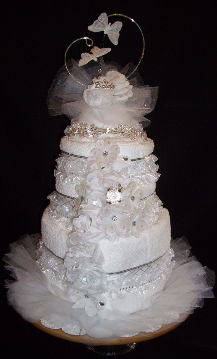 wedding cakes bath 25 best ideas about wedding towel cakes on 23866