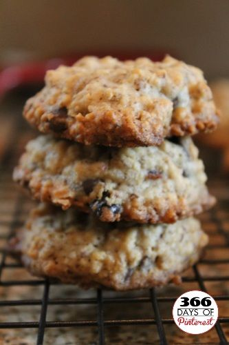 Oatmeal Flaxseed Cookies