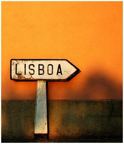 Lissabon-Schild