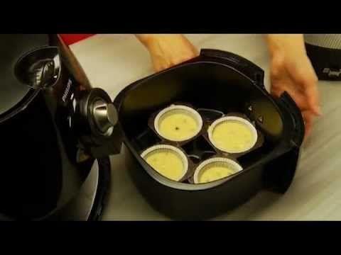 Airfryer muffin video