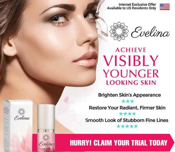 They are so confident it will function they agree to show it! The anti wrinkles Evelina Collagen Serum could get online for free trial http://fitnessbiotics.com/evelina-collagen-serum/