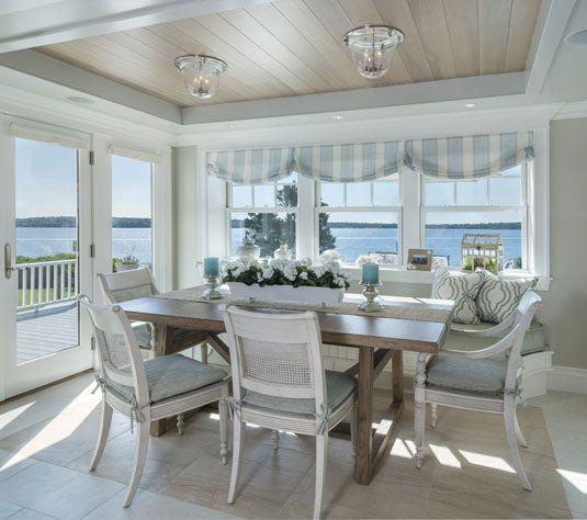 Top 25+ best Coastal dining rooms ideas on Pinterest   Beach ...