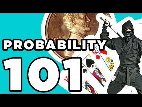 This guy is so animated he makes it easy to pay attention and learn the basics of probabilitiy.